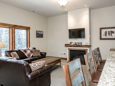 Photo for Sweet 4 Bedroom Whitefish Condo w/ Views