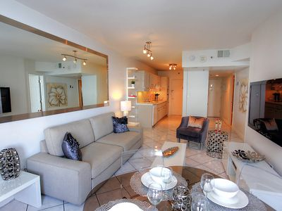 Photo for South Beach - One Bedroom Condo - W/Parking - Beach and Pool Views