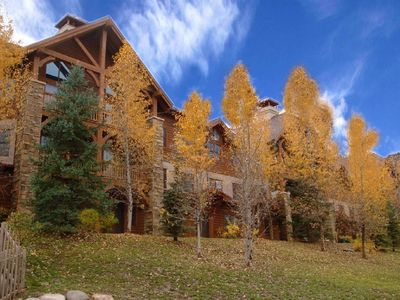 Photo for Gorgeous Beaver Creek 2 bed 2 bath condo at the Lodge at Brookside