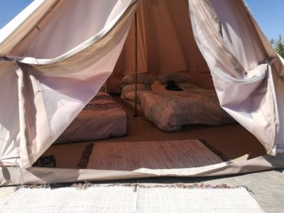Photo for Bell tent - One Bedroom House, Sleeps 4
