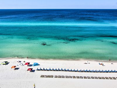 Photo for Cozy Panama City Beach Waterfront Condo w/ 4 Pools