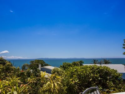 Photo for Comfortable  bach with panoramic sea views