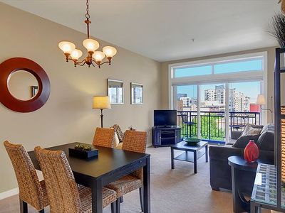 Photo for Spacious One Bedroom Condo, The Belltown Court Home Port Suite, with Water and City Views! 10% OFF