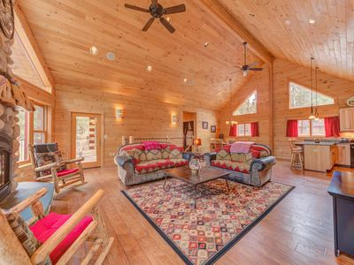 Photo for 17166 Crane Drive is a custom Built Log Home On The Big Deschutes River.