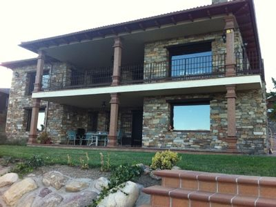 Photo for Beautiful rural house with views to the Pinilla and the Long Rope Peñalara
