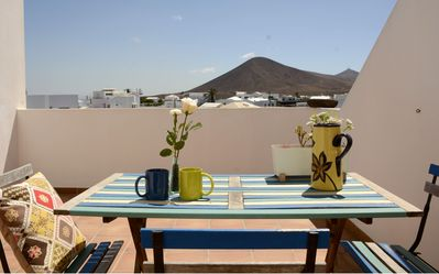 Photo for Casa Bom Terrace Apartment. Great view, relaxing plays, central location.