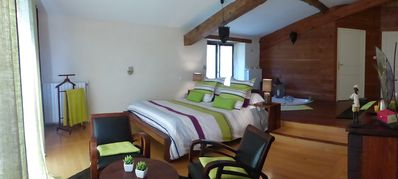 Photo for Les Terrasses de Génat - Charming bed and breakfast in the mountains