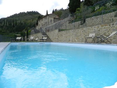 Photo for Beautiful farmhouse, equipped with all comforts just a few steps from Cortona