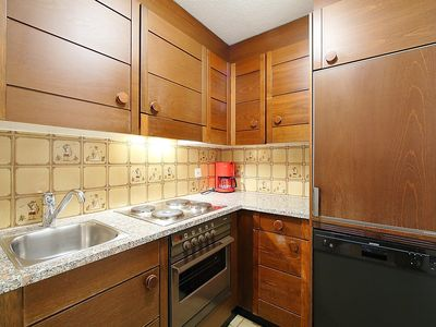 Photo for Apartment 399 m from the center of Silvaplana with Internet, Lift, Parking, Washing machine (61403)