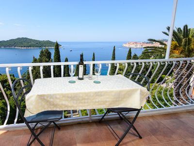 Photo for Apartment with the most beautiful sea view in Dubrovnik
