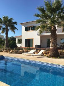 Photo for Romantic quiet holiday in the Algarve, luxury villa with beautiful garden.