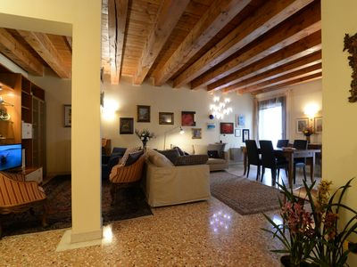 Photo for Heart old Padua Exclusive PALAZZO DELLA RAGIONE apartment close to everything