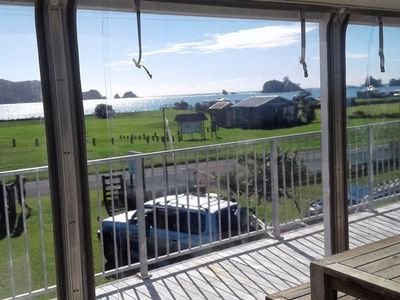 Photo for Picturesque Ocean View - Bland Bay, Northland