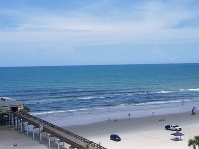 Photo for Beautiful Ocean View 2 Bed/2 Bath Corner Condo w/ 24 ft. Balcony on the sand!