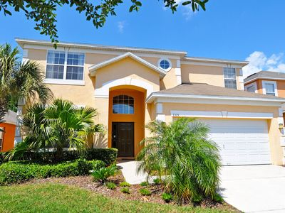 Photo for Spacious Villa - South West Pool - Games Room - WiFi - 8 miles from Disney