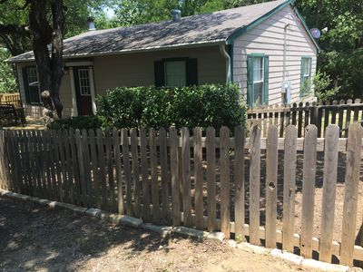 Photo for TREES AND DECKS AND TOTALLY UPDATED 2 BEDROOM COTTAGE
