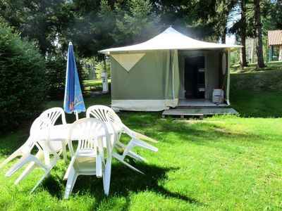 Photo for Camping La Chanterelle *** - Toilé Lagoon Bungalow 3 Rooms 5 Persons