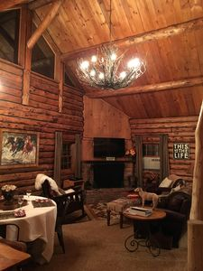 Photo for Picture Perfect Vermont Log Cabin - Close to Everything Manchester Offers