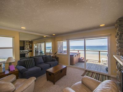 Photo for Only $170/Night** - Onsite Beach Access, Private Hot Tub, Amazing  Ocean Views