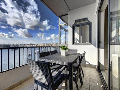 Photo for Exceptional Tigne Seafront 4-bedroom Apartment