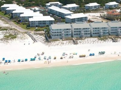 Photo for Remodeled, Gulf view, heated pool, smart TVs on 30A with direct beach access