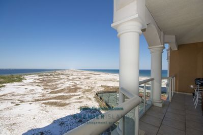 Unobstructed views of Gulf, Sound & National Park Preserve from all rooms