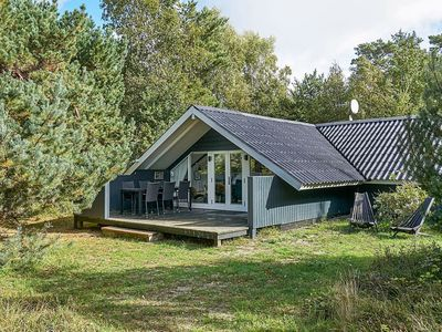 Photo for Magnificent Holiday Home in Aakirkeby near Sea