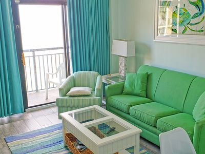 Photo for Stargazer Suite! Penthouse! Renovated '18 TIKIBar LazyRiver  Hottubs/OceanFront