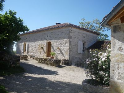 Photo for Cottage 18 persons, 260 m² - 8 bedrooms - 7 bathrooms, 20 ha, swimming pool, absolute calm