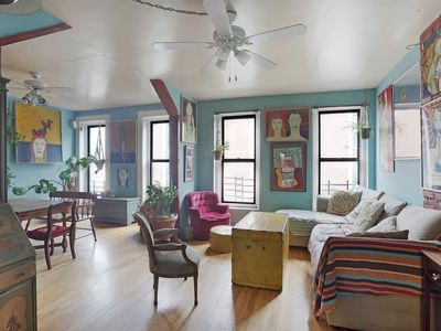 Photo for Colorful Artistic Williamsburg Apt, 3 Bedrooms, 2 Bathrooms