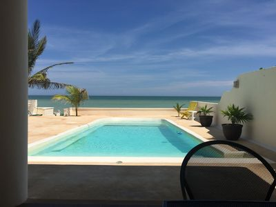 Photo for Z'Uno, the Perfect Beach House on Gulf with Pool in Playa San Benito