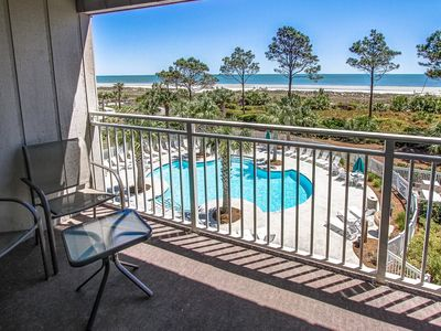 Photo for Ocean Dunes Villa 315 - Beautiful Oceanfront, Beach and Pool view.