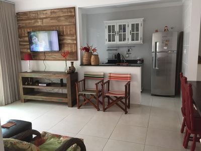 Photo for Excellent apartment on the Ingleses beach 600 meters from the beach