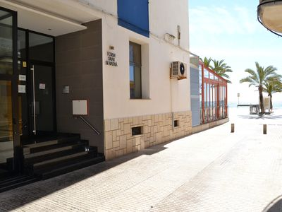 Photo for Flat on first line beach in Vinaroz