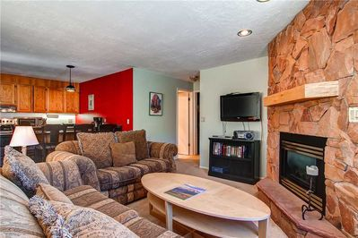 Warm inviting living room - Park City Lodging-R Edelweiss