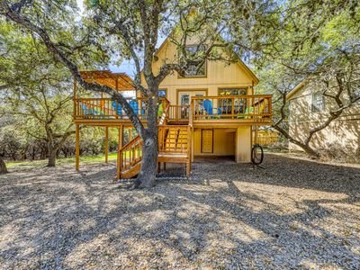 Photo for Cozy, family-friendly home near the lake w/ a firepit & large backyard - dogs OK