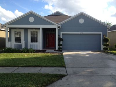 Photo for New! ORLANDO Lakefront Vacation Home 2 BEDROOM 2 BATHROOM PET FRIENDLY