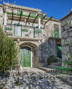 Photo for Beautiful, old terraced house in ethno Dalmatian village