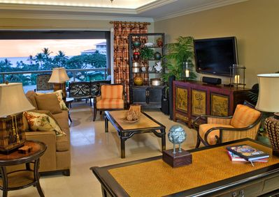 Enjoy breathtaking ocean views from inside the Great Room.