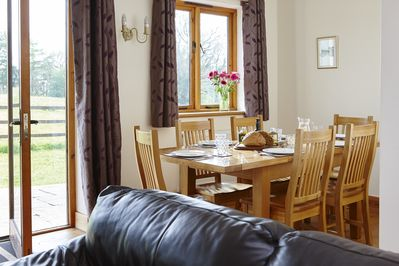 The Linhay dining area