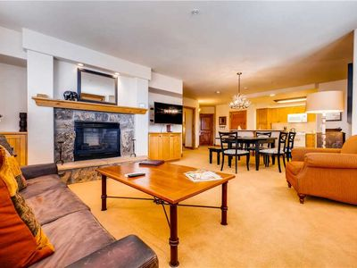 Photo for Slopeside Condo w/Great Views, Balcony & Fireplace!