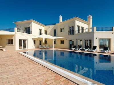 Photo for Beautiful Executive Villa - Stunning Views overlooking Eastern Algarve and Sea