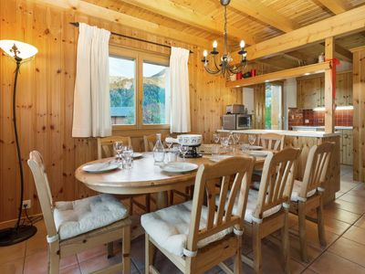 Photo for Vacation home the Chalet on the Piste in La Tzoumaz - 8 persons, 3 bedrooms