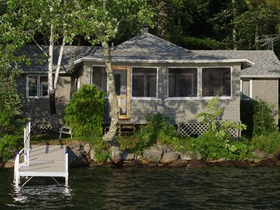 Photo for Loon Camp - right on St. George Lake, multi-sleeping areas, canoe included