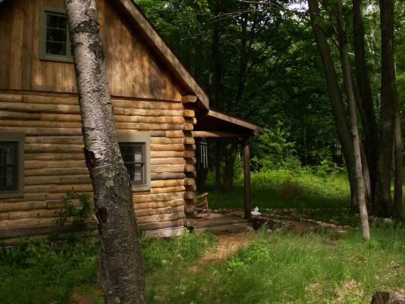 Rustic Log Cabin / Farm Vacation / Romantic Getaway - Rhinelander