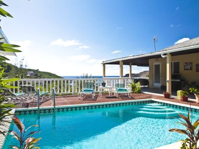 Photo for Perfectly Located, Sea View, 3 bedroom Villa, Fully Equipped Apartment and Pool