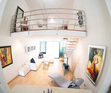 Photo for Modern Loft Style w/ Beautiful View + King Bed