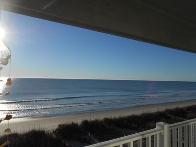 Photo for Beach Paradise! Direct Ocean Front End Unit! Prime Location! Beautiful Beach!