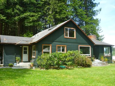 Photo for Country Redwood Home With Remarkable Smith River Views