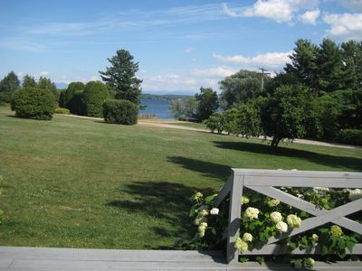Photo for Spectacular views on Lake Champlain